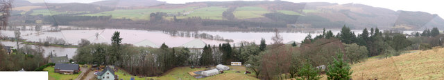 River Tay floods Jan 08