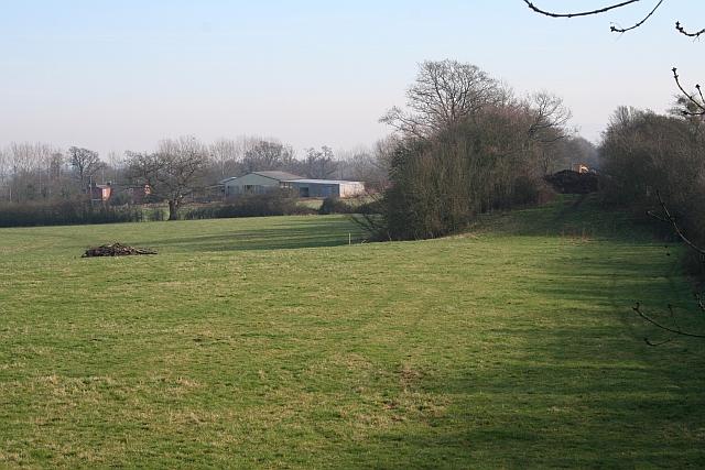 Route of Malvern to Upton Railway
