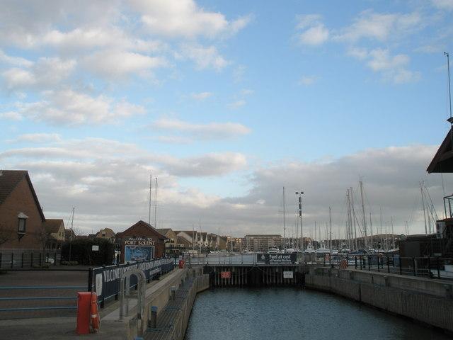 Port Solent Lock