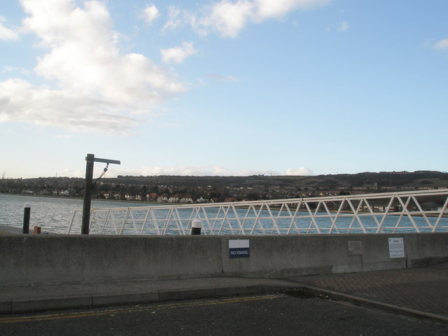 Port Solent defences