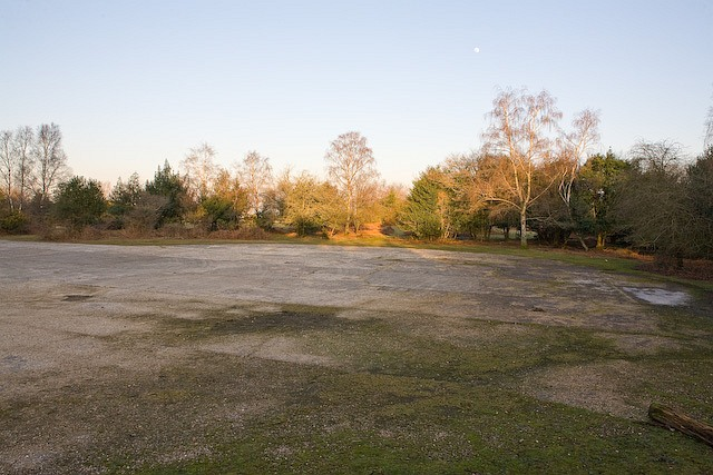 Dispersal pad of former Stoney Cross airfield, New Forest