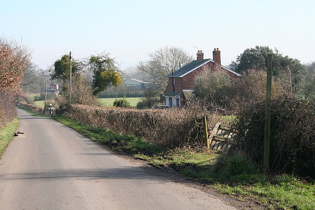 The  Road to the Castle at Hanley
