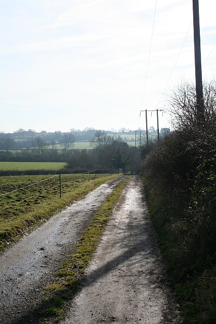 The Track from Tuck Mill