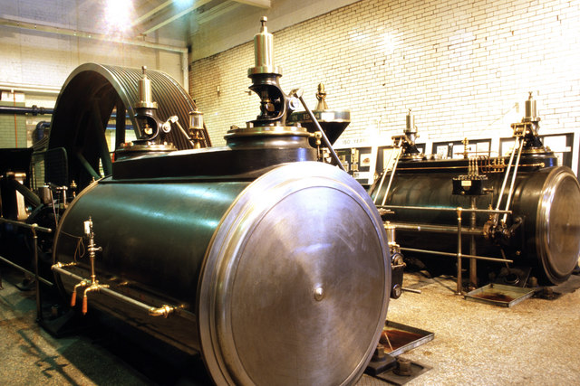 Steam engine, Carr's flour mill