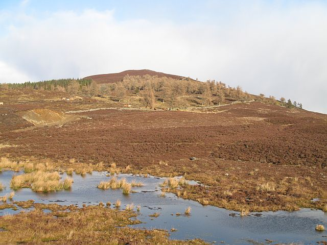 West ridge of Meall Mòr