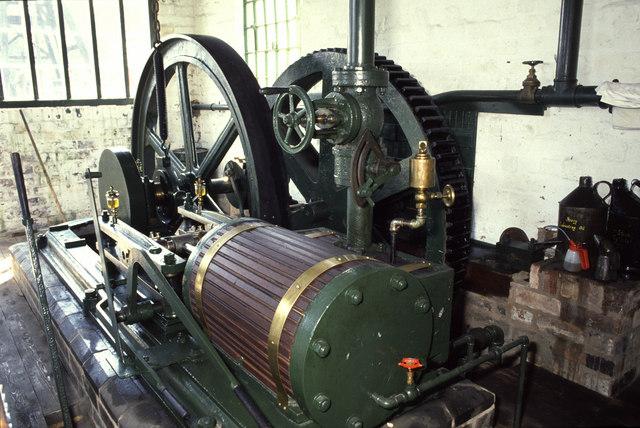 Racecourse Colliery winding engine