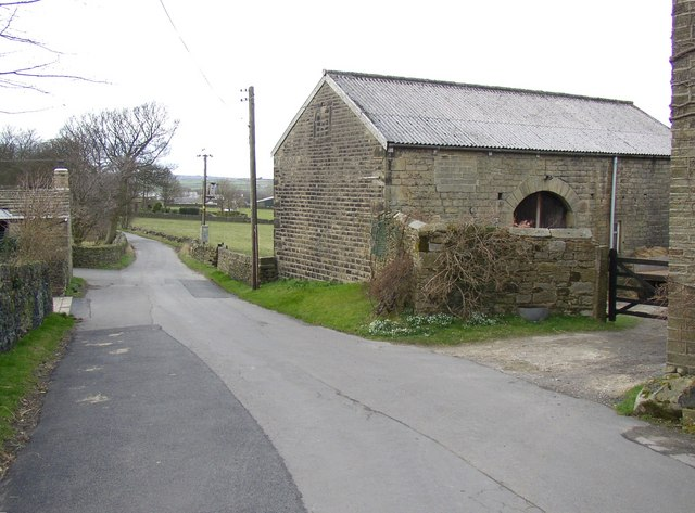 Wood Nook Lane, Honley