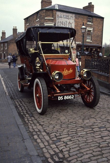 Stanley steamer at Black Country Museum