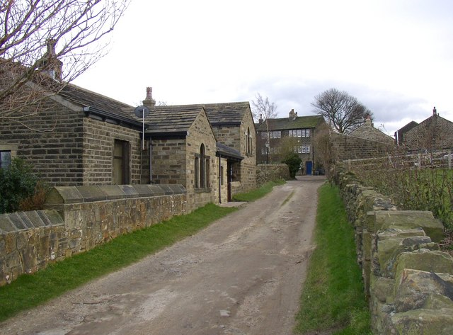 Lane at Oldfield, Honley