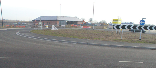 New roundabout and Services