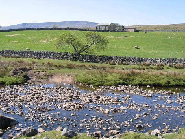The ford across Thorn Gill