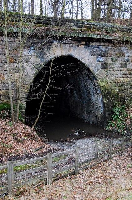 Prospect tunnel South portal