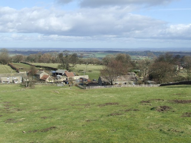 A view over Angram Cote Farm