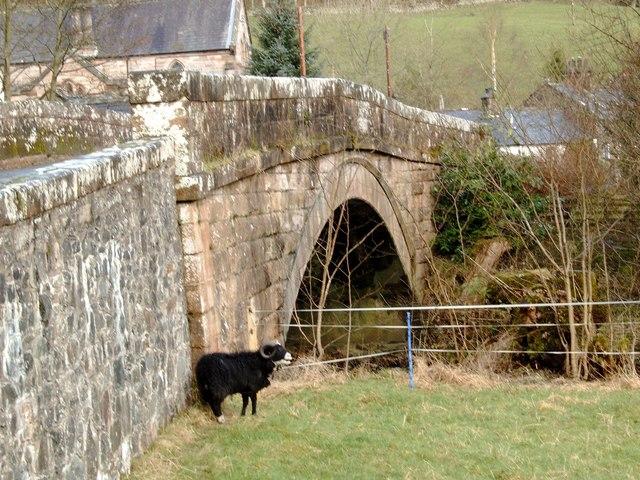 Billy Goat Gruff at Tynron Bridge