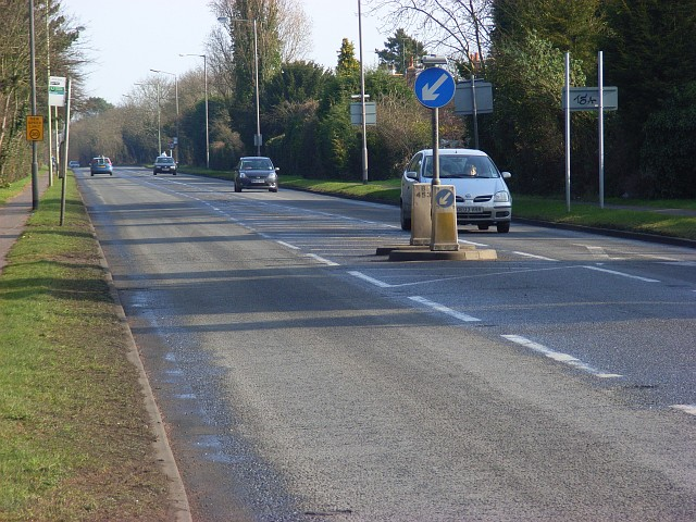 The Bath Road (A4), Sonning