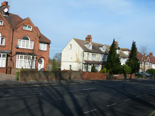 Houses on Maidstone Road, Chatham