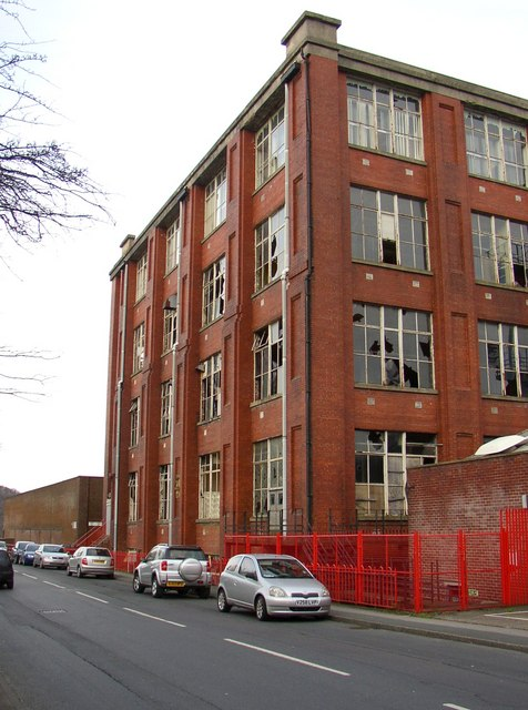 'C' Block,  Meltham Mills, Meltham