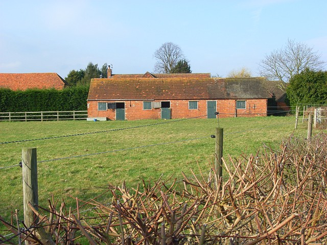 Paddock and stables, Holme Park Farm, Sonning