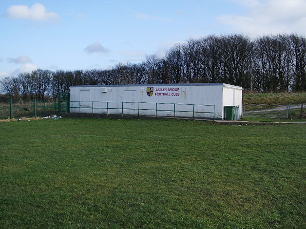 Club House for Astley Bridge Football Club