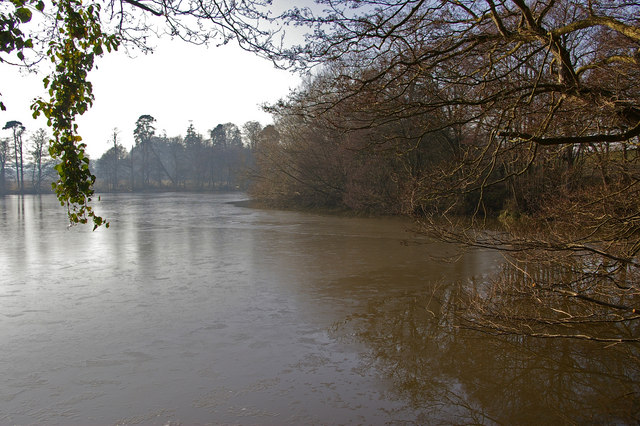 Middle Pool, near Bromfield