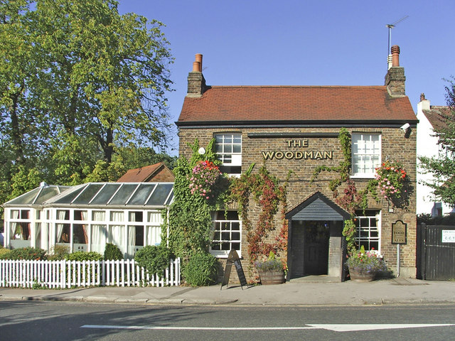 The Woodman, Bourne Hill, London N13