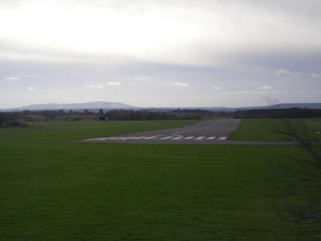 Cosford Airfield runway
