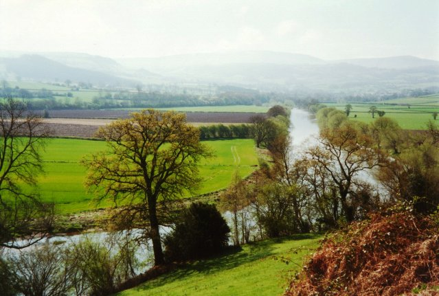 River Wye north of Hay