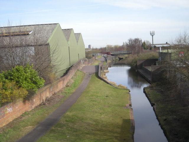 Urban canal.