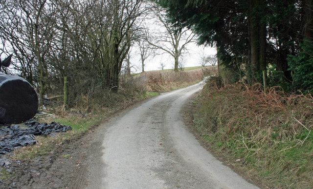 Road to Llanrhaeadr