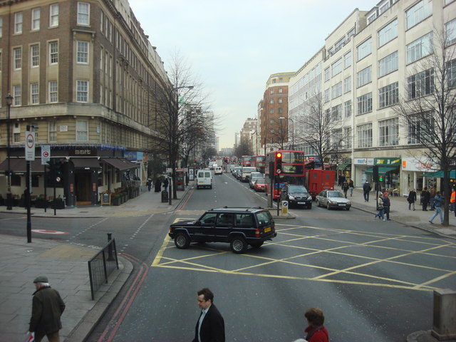 A5 Edgware Road, looking north