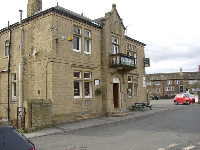 The Liberal Club, Lane Head, Honley