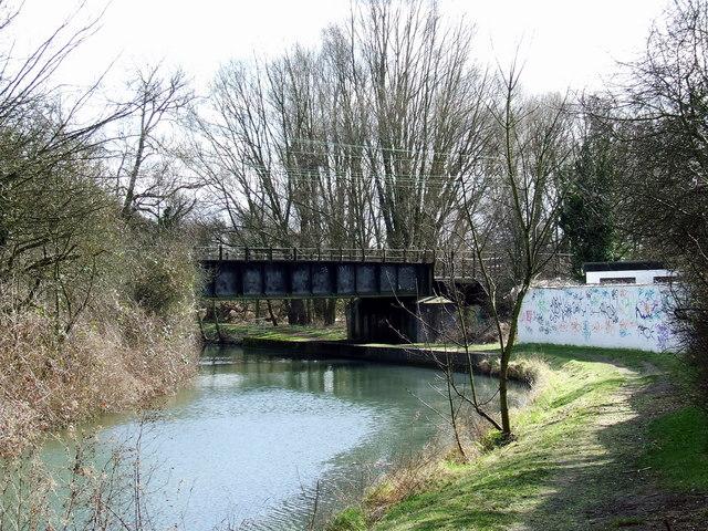 Railway bridge over the River Stort