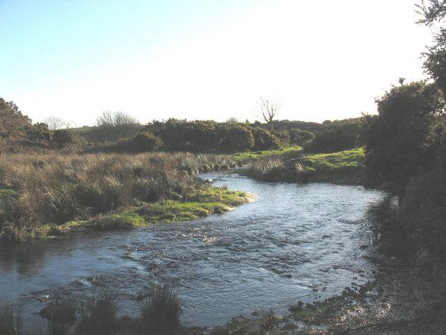 Meander in Afon Erch