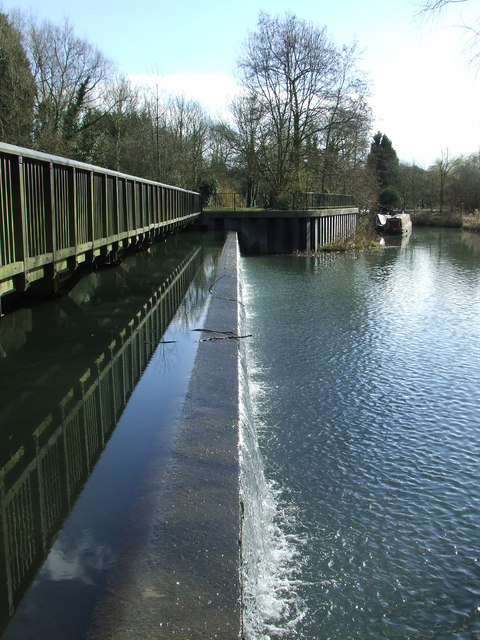 South Mill weir