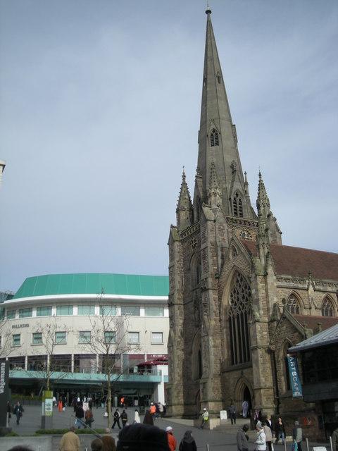 St Martin's in the 'Bull Ring'.