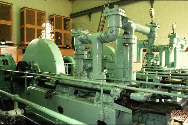 Hydraulic pumping station Underfall Yard