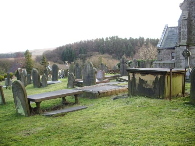 St Peters Parish Church, Belmont, Graveyard