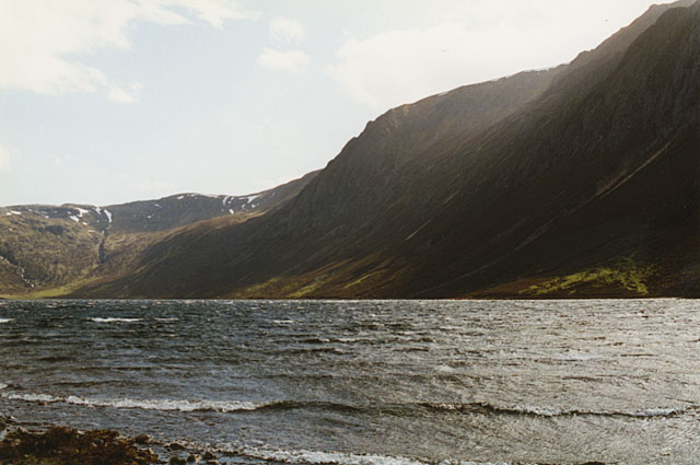 The west side of Loch Einich