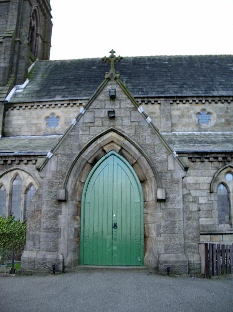 St Peters Parish Church, Belmont, Porch