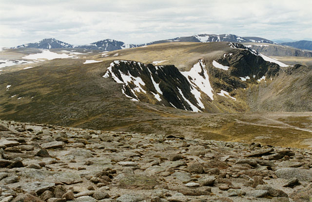 View south west from Cairngorm