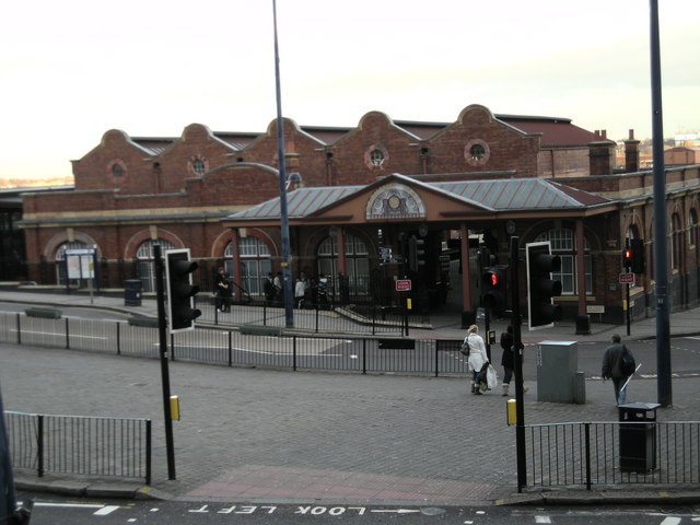 Birmingham Moor St Station.