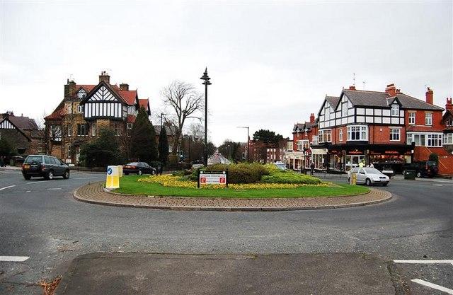 A61 Leeds road/Park drive roundabout