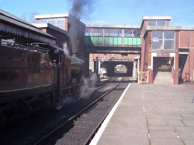 Bury Railway Station (ELR)