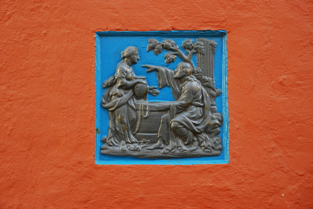 Plac Portmeirion Plaque