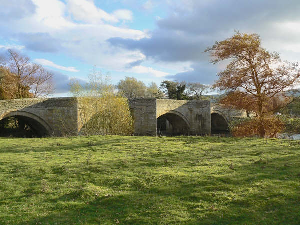Bridge over the River Ure at Ulshaw