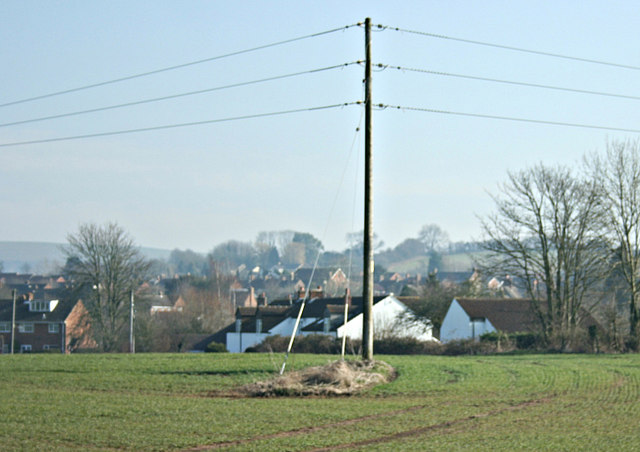 2008 : From St. Mary's Lane, Dilton Marsh