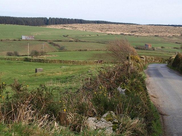 Fowey valley near St Luke's