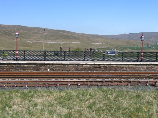 Ribblehead station platform