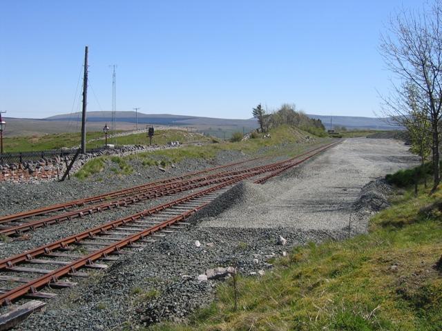 Railway sidings at Ribblehead