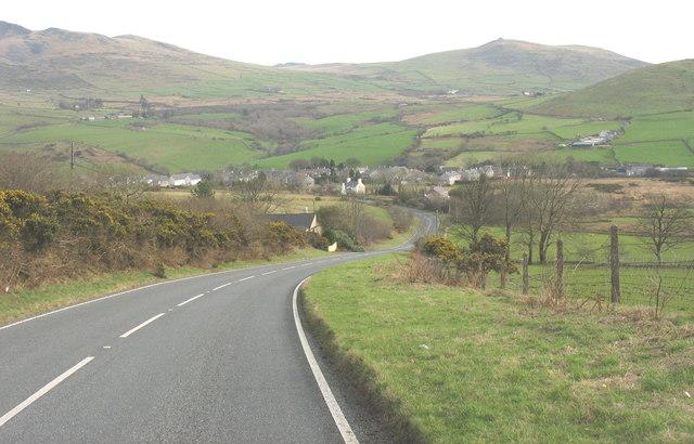 Free-wheel down to Llanaelhaearn
